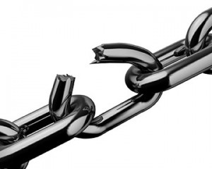 Are you really going to let some stranger be the key link in your supply chain?