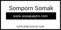 Somporn Somak Supplier Blacklist
