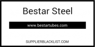 Bestar Steel Supplier Blacklist