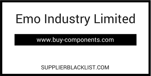 Emo Industry Limited Supplier Blacklist