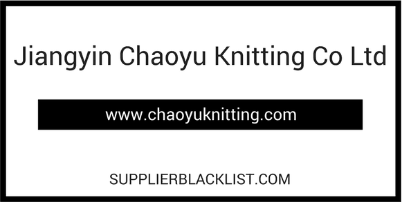Jiangyin Chaoyu Knitting Co Ltd
