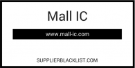 Mall-IC-Supplier-Blacklist