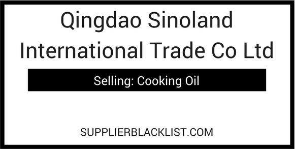 Qingdao sinoland international trade co ltd qingdao china for Portent international co ltd