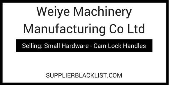 Weiye Machinery Manufacturing Co Ltd