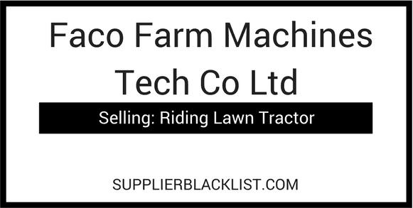 Faco Farm Machines Tech Co Ltd