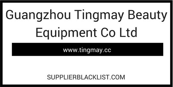 Guangzhou Tingmay Beauty Equipment Co Ltd