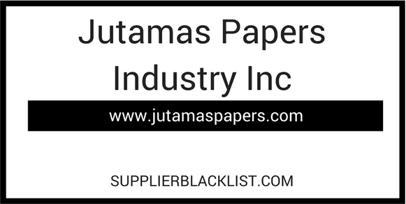 Jutamas Papers Industry Inc