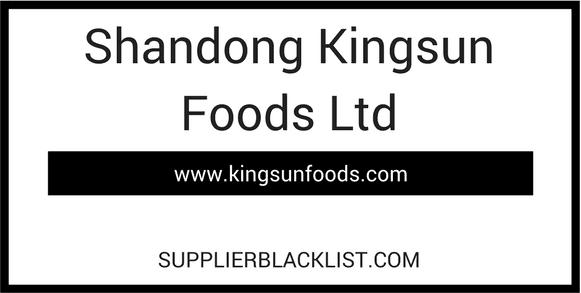 Shandong Kingsun Foods Ltd