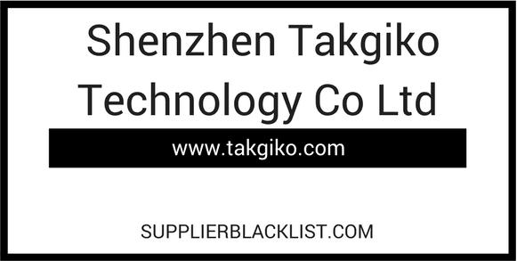 Shenzhen Takgiko Technology Co Ltd