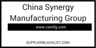 China Synergy Manufacturing Group