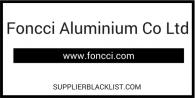 Foncci Aluminium Co Ltd