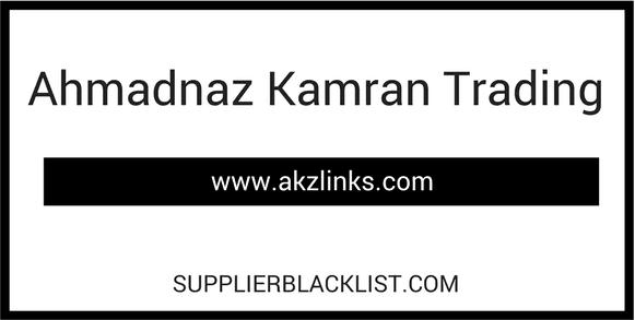 Ahmadnaz Kamran Trading