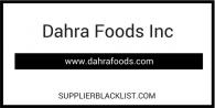 Dahra Foods Inc Scam