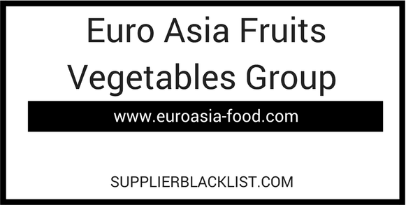 Euro Asia Fruits Vegetables Group