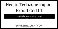 Henan Techzone Import Export Co Ltd
