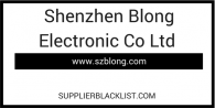 Shenzhen Blong Electronic Co Ltd Scam