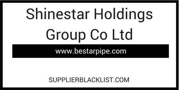 Shinestar Holdings Group Co Ltd Scams