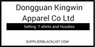 Dongguan Kingwin Apparel Co Ltd