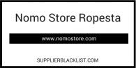 Nomo Store Ropesta