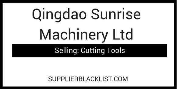 Qingdao Sunrise Machinery Ltd