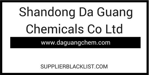 Shandong Da Guang Chemicals Co Ltd