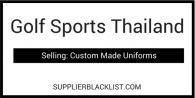 Golf Sports Thailand