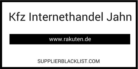 Kfz Internethandel Jahn Spare Parts