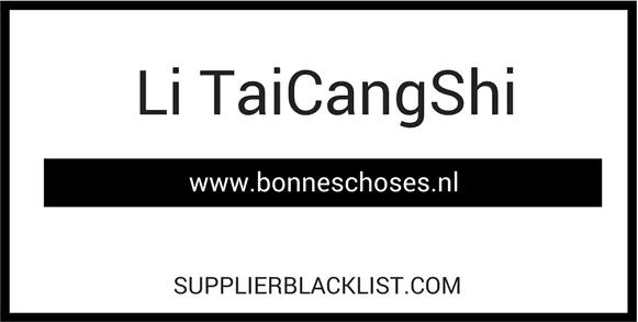 Li TaiCangShi Based in Jiangsu