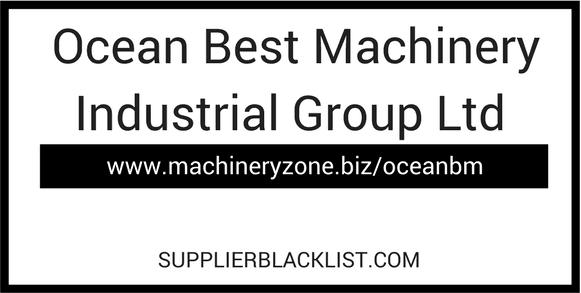 Ocean Best Machinery Industrial Group Ltd