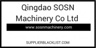 Qingdao SOSN Machinery Co Ltd
