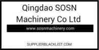 Qingdao SOSN Machinery Co Ltd