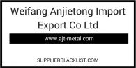 Weifang Anjietong Import Export Co Ltd