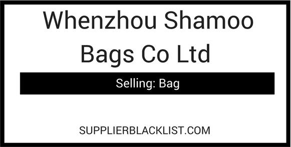 Whenzhou Shamoo Bags Co Ltd