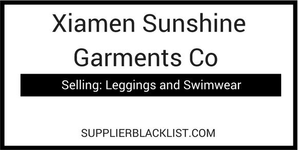 Xiamen Sunshine Garments Co