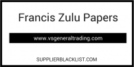 Francis Zulu Papers