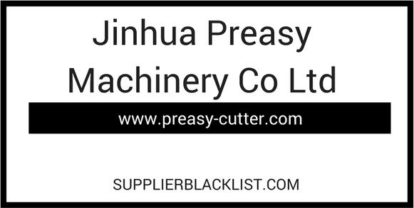 Jinhua Preasy Machinery Co Ltd Food Service Equipment