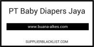 PT Baby Diapers Jaya
