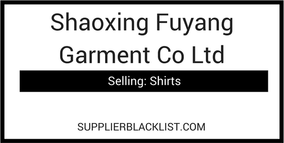 Shaoxing Fuyang Garment Co Ltd