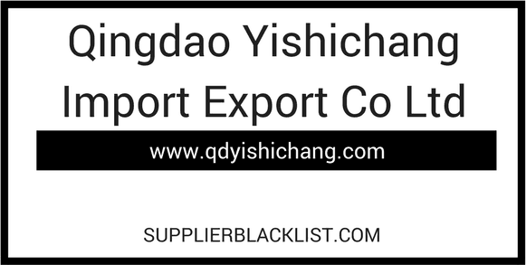 Qingdao Yishichang Import Export Co Ltd China