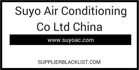 Suyo Air Conditioning Co Ltd China