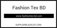 Fashion Tex BD