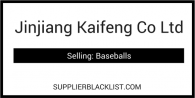 Jinjiang Kaifeng Co Ltd