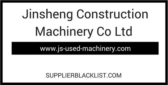 Jinsheng Construction Machinery Co Ltd Based in China