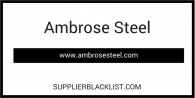 Ambrose Steel Based in Mariupol