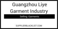 Guangzhou Liye Garment Industry