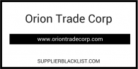 Orion Trade Corp
