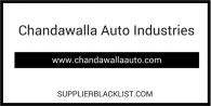 Chandawalla Auto Industries