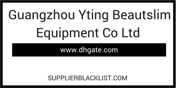 Guangzhou Yting Beautslim Equipment Co Ltd