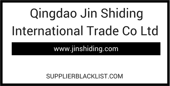 Qingdao Jin Shiding International Trade Co Ltd