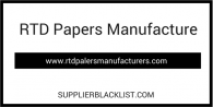 RTD Papers Manufacture